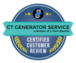CT Generator Service Certified Customer Review