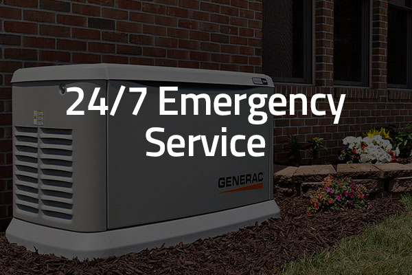 24/7 emergency service graphic