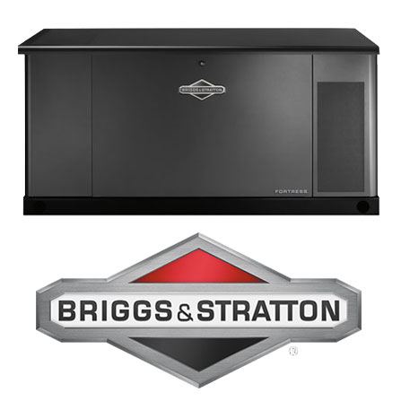 briggs and stratton generator with logo