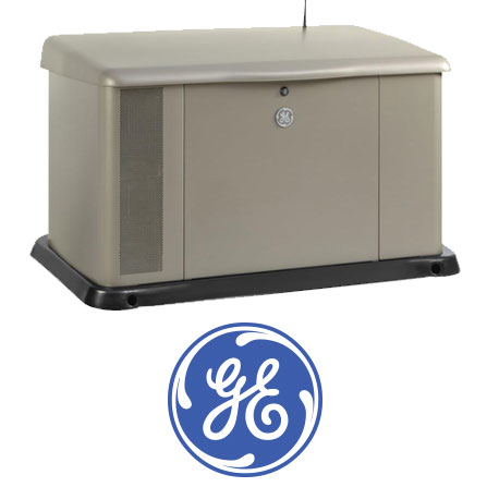 ge generator with logo