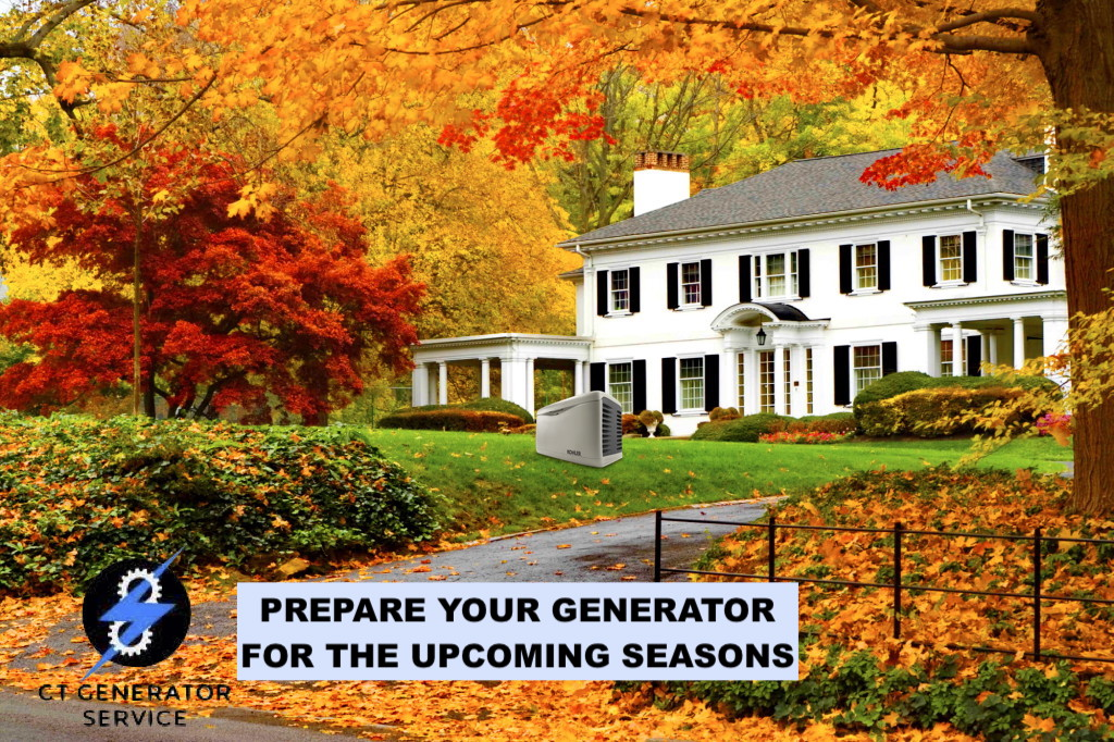 Preparing Your Generator for Fall & Winter